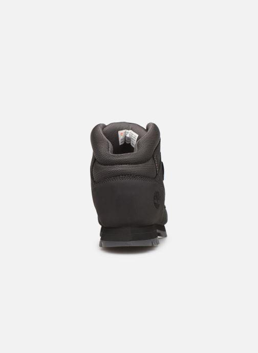 Zapatos con cordones Timberland Euro Sprint Hiker Negro vista lateral derecha