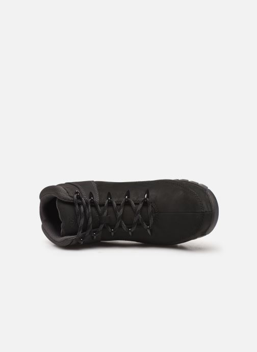 Lace-up shoes Timberland Euro Sprint Hiker Black view from the left