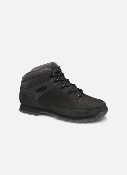 Zapatos con cordones Timberland Euro Sprint Hiker Negro vista de detalle / par