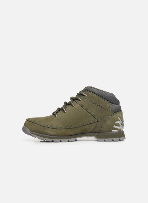 Chaussures à lacets Timberland Euro Sprint Hiker Vert vue face