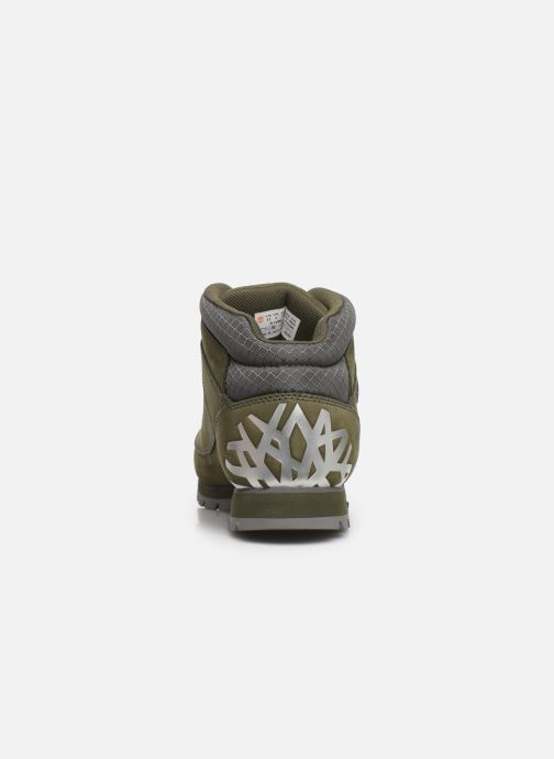 Chaussures à lacets Timberland Euro Sprint Hiker Vert vue droite