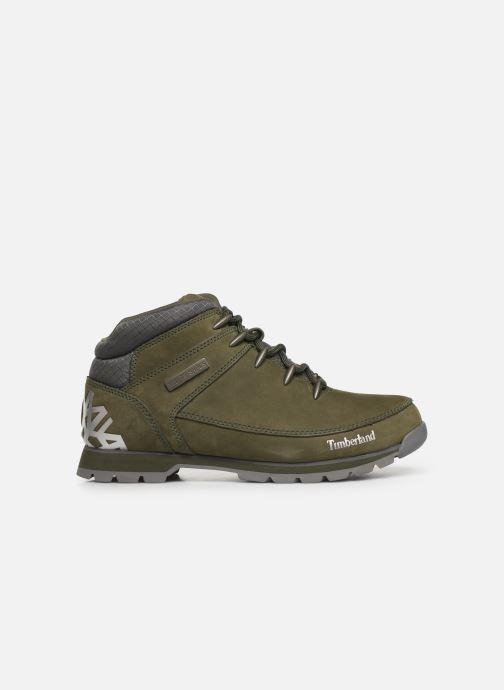 Chaussures à lacets Timberland Euro Sprint Hiker Vert vue derrière
