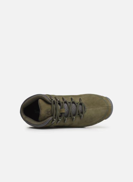 Chaussures à lacets Timberland Euro Sprint Hiker Vert vue gauche