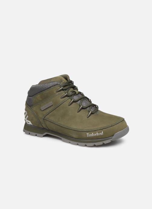 Chaussures à lacets Timberland Euro Sprint Hiker Vert vue détail/paire