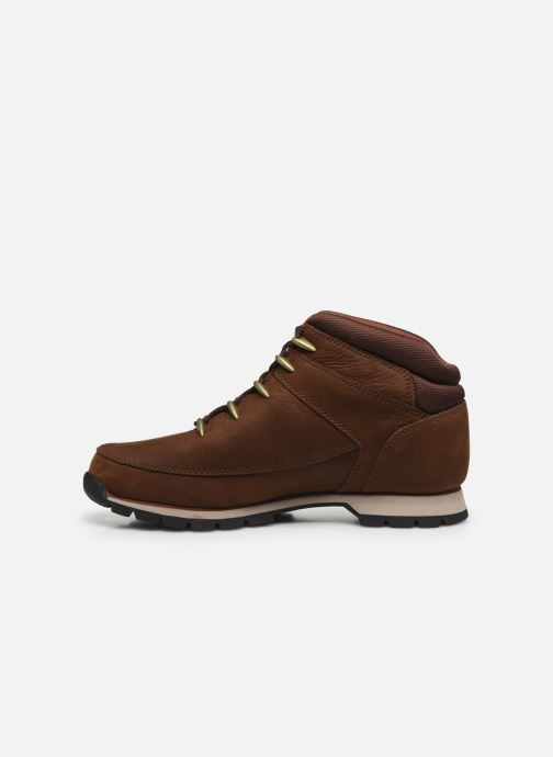 Lace-up shoes Timberland Euro Sprint Hiker Brown front view