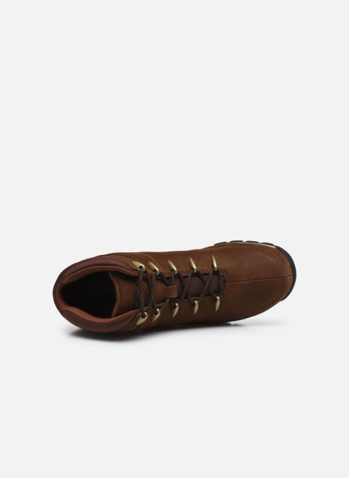 Lace-up shoes Timberland Euro Sprint Hiker Brown view from the left