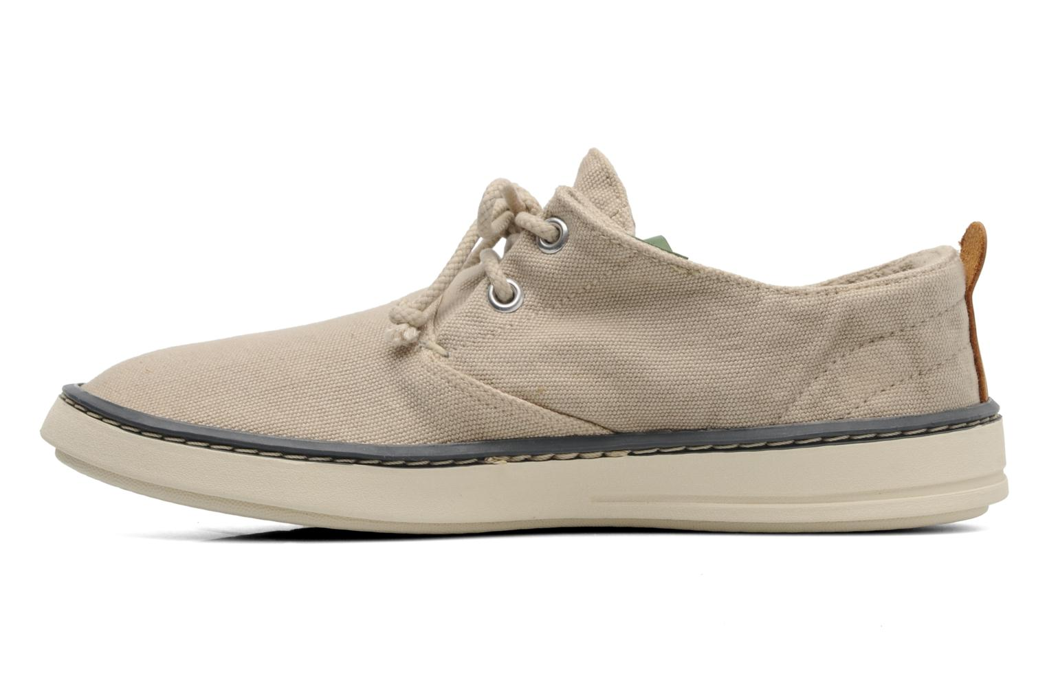 Baskets Timberland Earthkeepers Hookset Handcrafted Canvas Ox Beige vue face