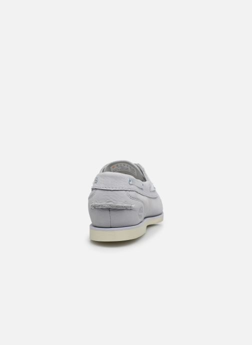 Chaussures à lacets Timberland Classic Boat Unlined Boat Shoe Gris vue droite