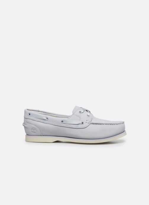 Lace-up shoes Timberland Classic Boat Unlined Boat Shoe Grey back view