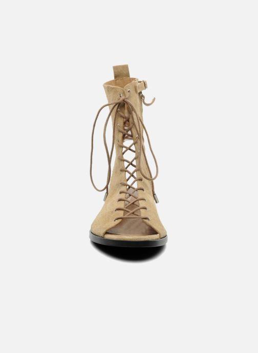 Sandales et nu-pieds Vanessa Bruno Vladior Beige vue portées chaussures