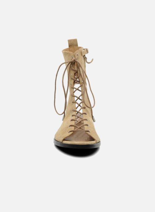 Sandals Vanessa Bruno Vladior Beige model view
