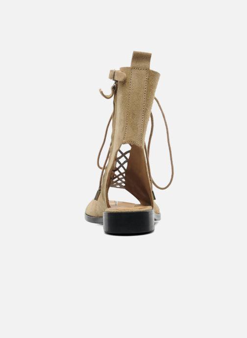 Sandales et nu-pieds Vanessa Bruno Vladior Beige vue droite