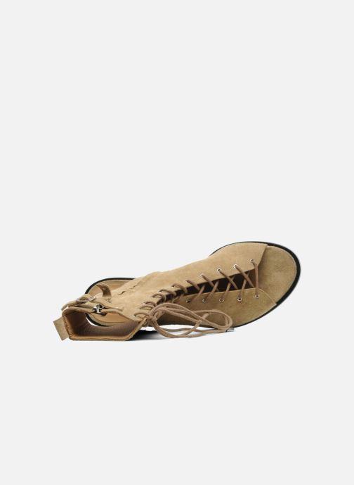 Sandali e scarpe aperte Vanessa Bruno Vladior Beige immagine sinistra