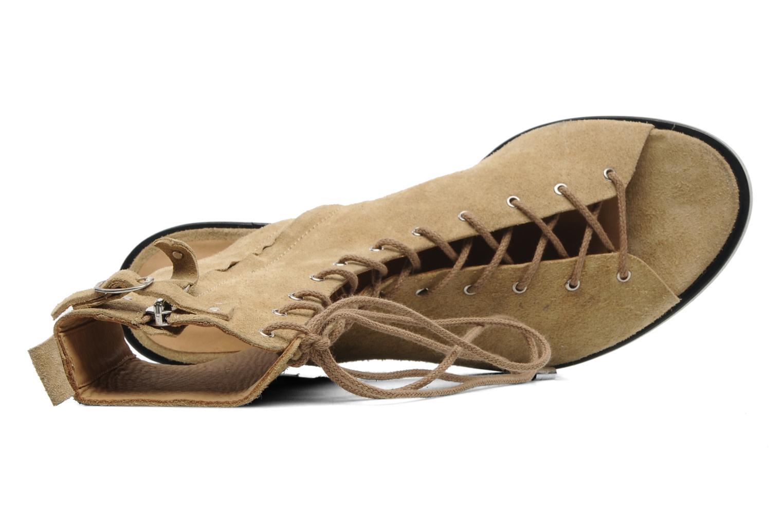Sandales et nu-pieds Vanessa Bruno Vladior Beige vue gauche