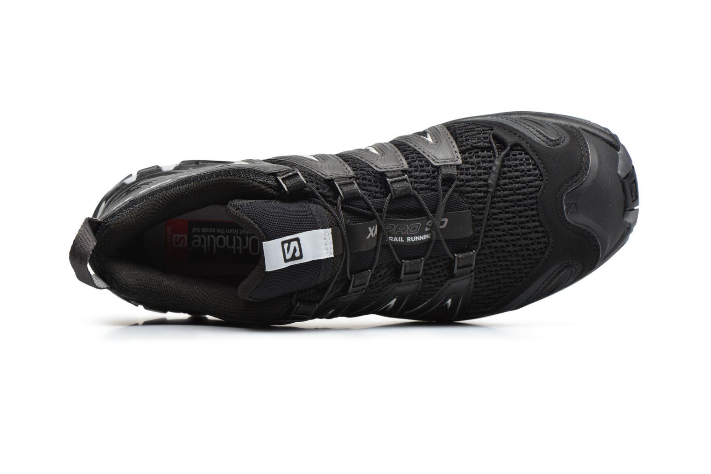 Zapatillas de deporte Salomon XA Pro 3D Negro vista lateral izquierda