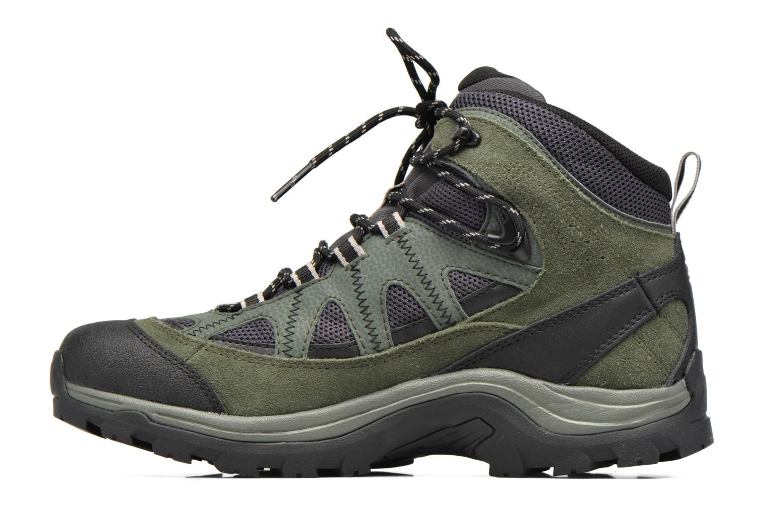 Zapatillas de deporte Salomon Authentic LTR GTX Verde vista de frente