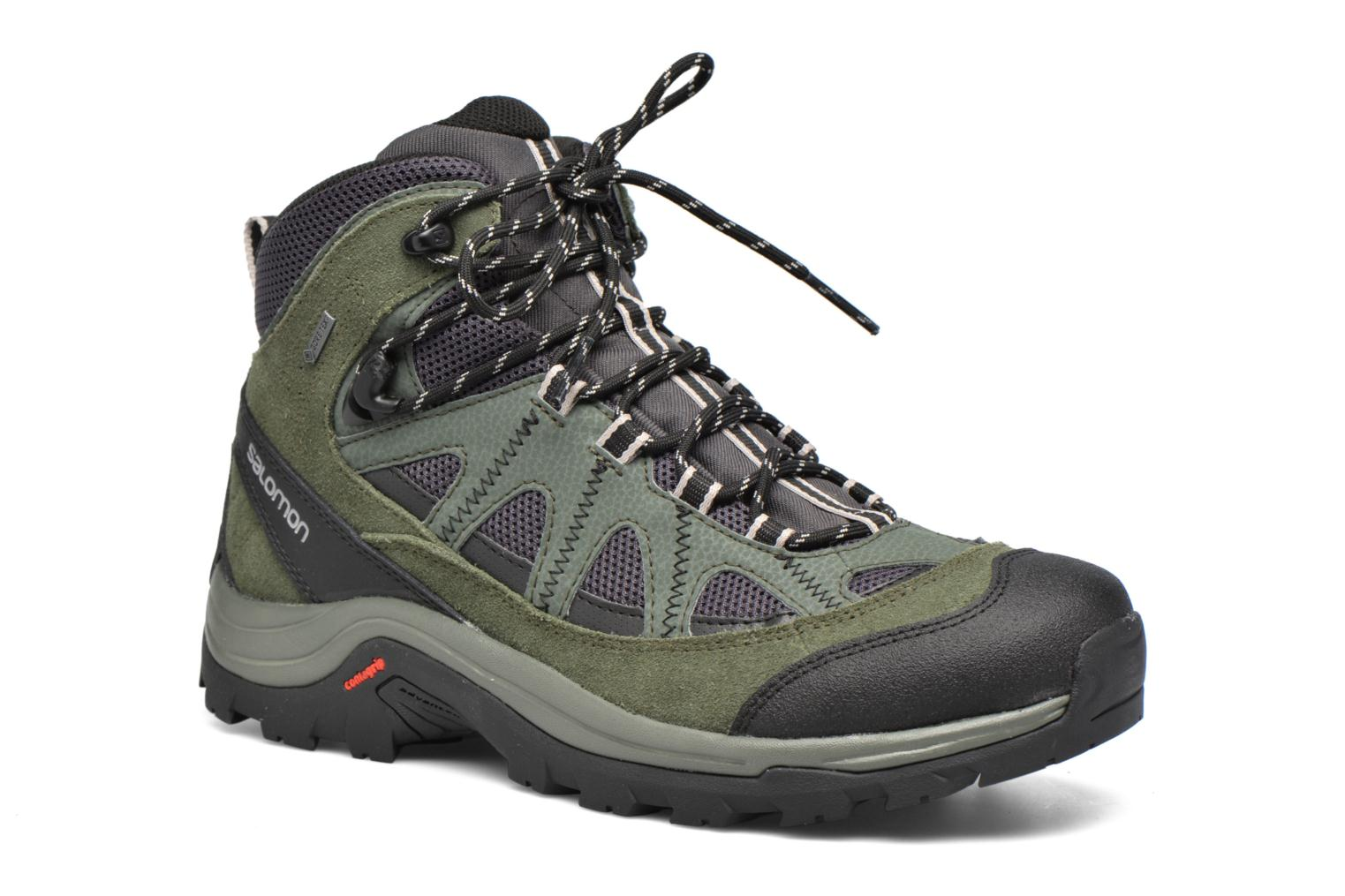 Zapatillas de deporte Salomon Authentic LTR GTX Verde vista de detalle / par