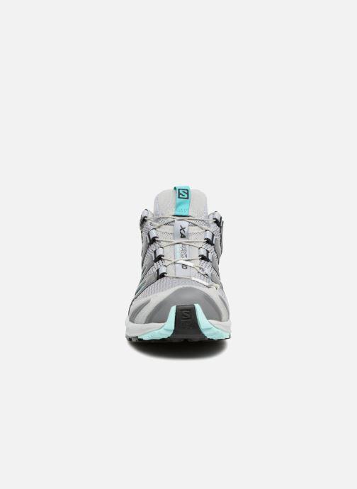 Chaussures de sport Salomon XA Pro 3D W Gris vue portées chaussures