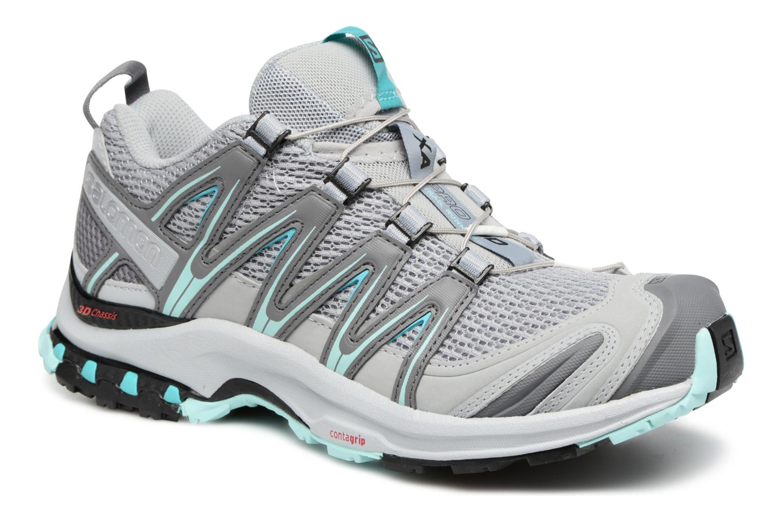 Chaussures de sport Salomon XA Pro 3D W Gris vue détail/paire