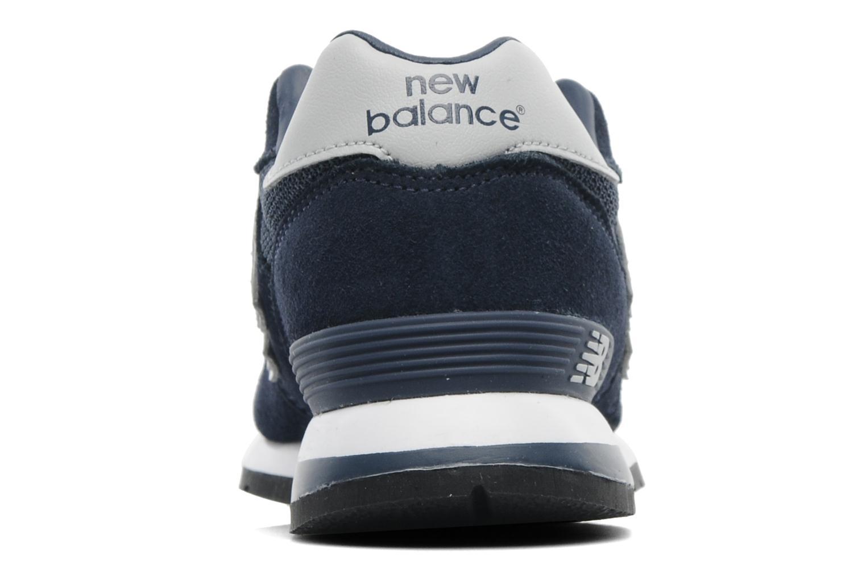 Baskets New Balance K1300 Bleu vue droite