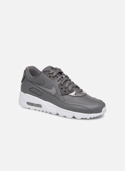 huge discount 90b40 18015 Trainers Nike AIR MAX 90 LE (GS) Grey detailed view  Pair view
