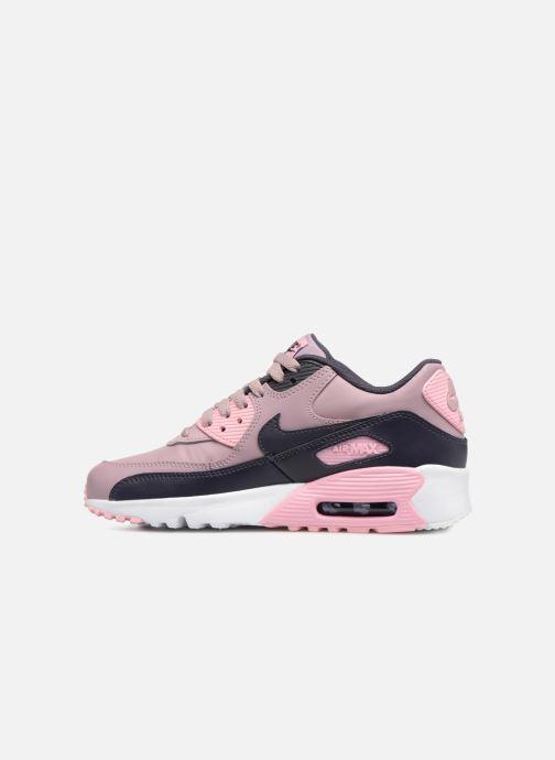 Nike AIR MAX 90 LE (GS) (Rose) - Baskets chez Sarenza (339283)