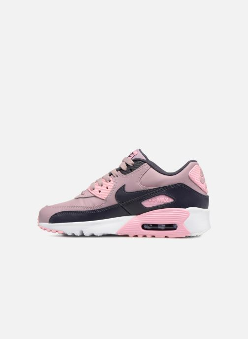 Sneakers Nike AIR MAX 90 LE (GS) Roze voorkant