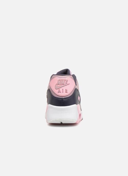Sneakers Nike AIR MAX 90 LE (GS) Roze rechts