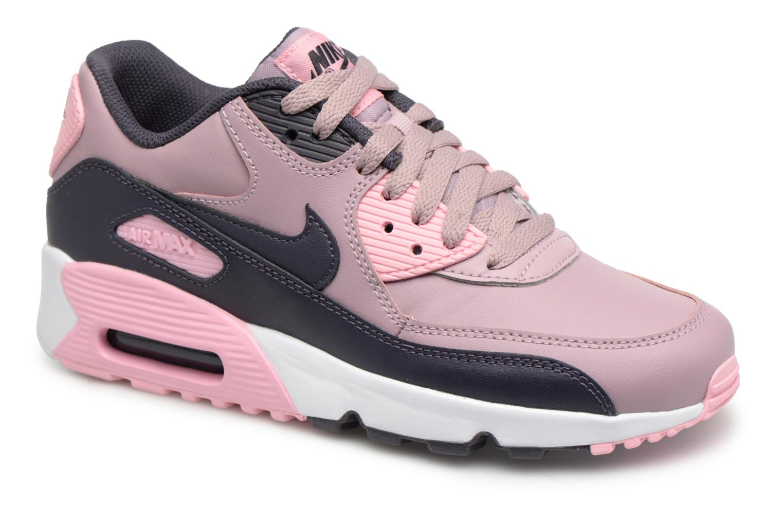 save off 5ce31 be6ec Sneakers Nike AIR MAX 90 LE (GS) Rosa detaljerad bild på paret
