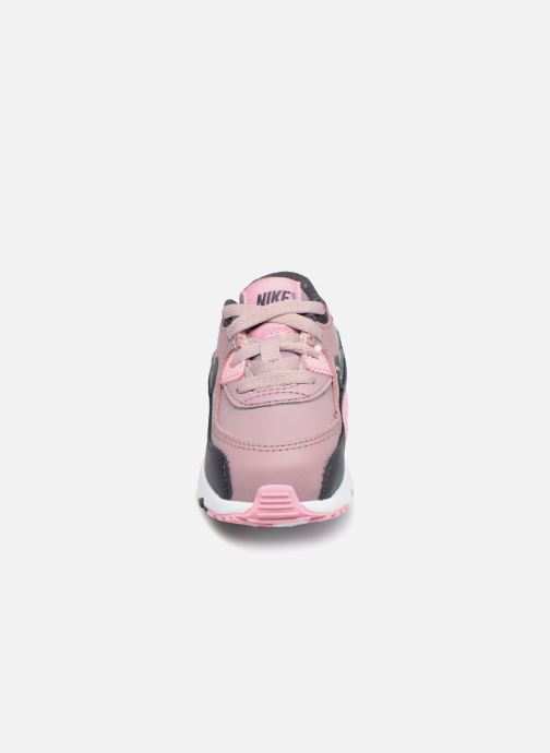 Sneaker Nike AIR MAX 90 LE (TD) rosa schuhe getragen