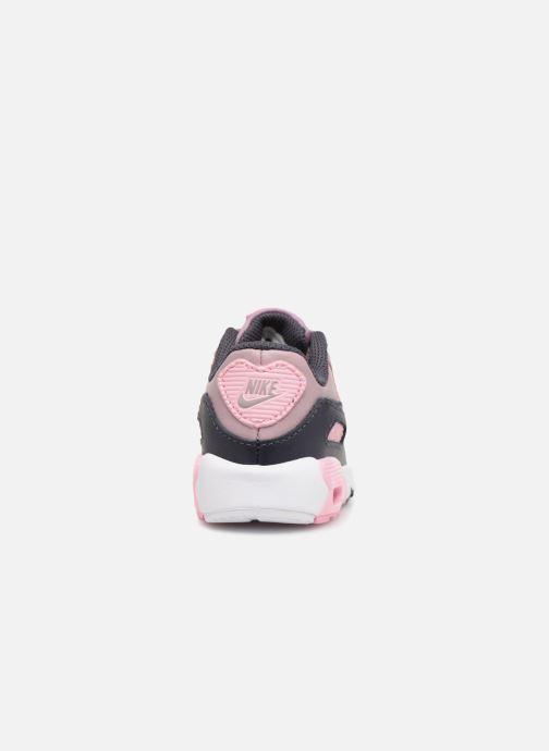 Sneaker Nike AIR MAX 90 LE (TD) rosa ansicht von rechts