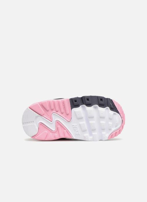 Sneaker Nike AIR MAX 90 LE (TD) rosa ansicht von oben