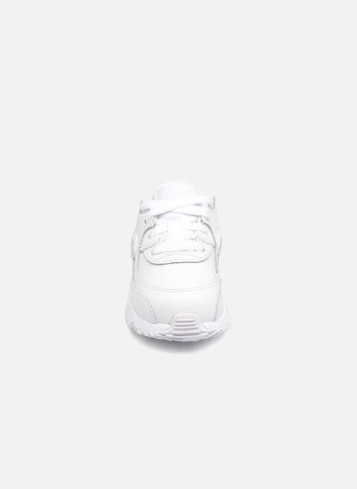 Deportivas Nike AIR MAX 90 LE (TD) Blanco vista del modelo