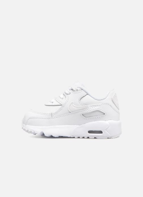 Sneaker Nike AIR MAX 90 LE (TD) weiß ansicht von vorne