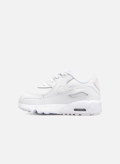 Deportivas Nike AIR MAX 90 LE (TD) Blanco vista de frente