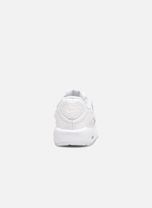 Deportivas Nike AIR MAX 90 LE (TD) Blanco vista lateral derecha