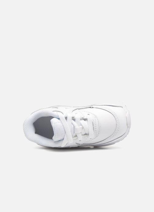 Deportivas Nike AIR MAX 90 LE (TD) Blanco vista lateral izquierda