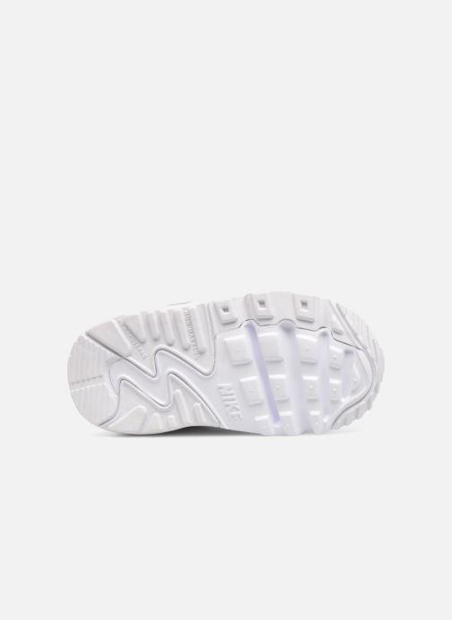 Deportivas Nike AIR MAX 90 LE (TD) Blanco vista de arriba