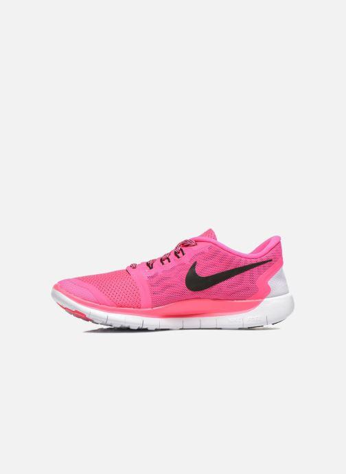 Deportivas Nike NIKE FREE 5.0 (GS) Rosa vista de frente