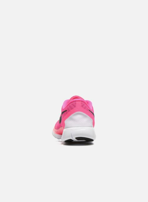 Trainers Nike NIKE FREE 5.0 (GS) Pink view from the right