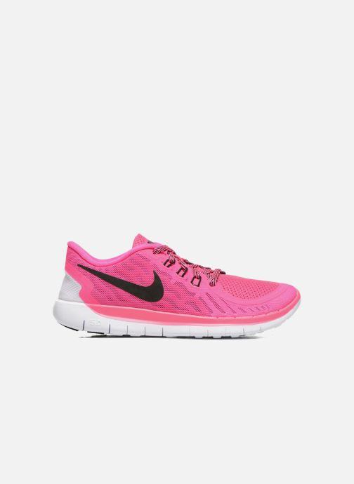 Sneaker Nike NIKE FREE 5.0 (GS) rosa ansicht von hinten