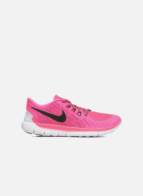 Trainers Nike NIKE FREE 5.0 (GS) Pink back view