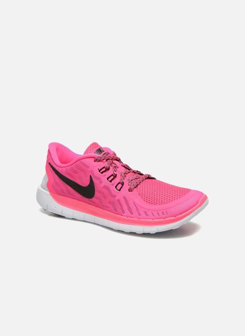 2e75b1dd2ef85 Nike NIKE FREE 5.0 (GS) (Rose) - Baskets chez Sarenza (219361)