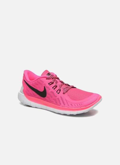 Trainers Nike NIKE FREE 5.0 (GS) Pink detailed view/ Pair view
