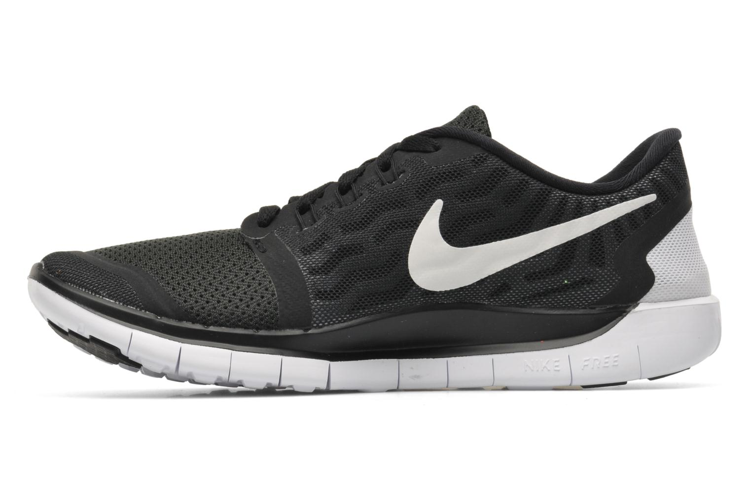 Baskets Nike NIKE FREE 5.0 (GS) Noir vue face