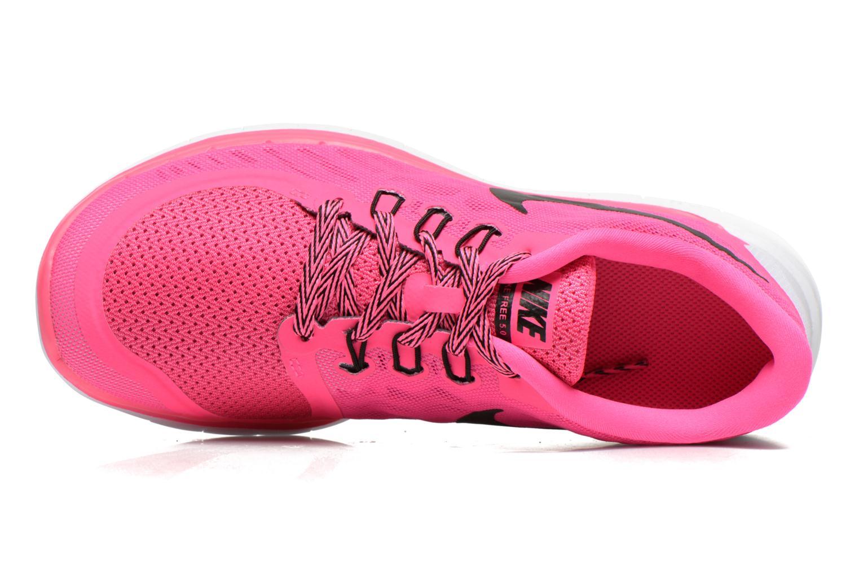 Baskets Nike NIKE FREE 5.0 (GS) Rose vue gauche