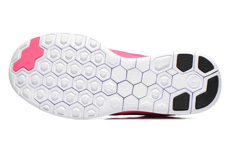 Baskets Nike NIKE FREE 5.0 (GS) Rose vue haut