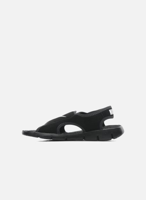 Sandales et nu-pieds Nike SUNRAY ADJUST 4 (GSPS) Noir vue face