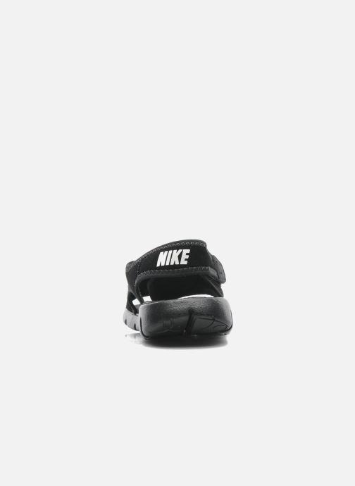 Sandalias Nike SUNRAY ADJUST 4 (GSPS) Negro vista lateral derecha
