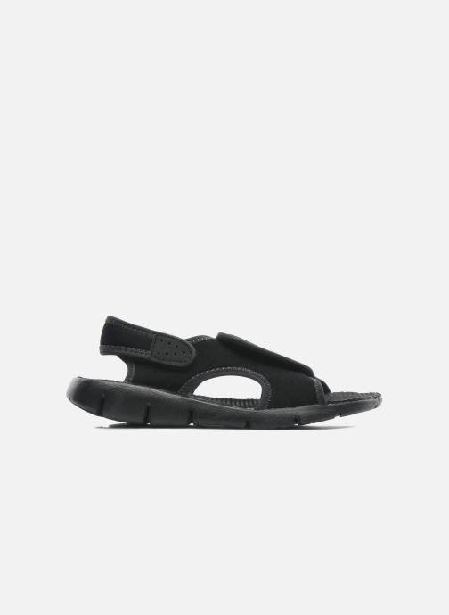 Sandales et nu-pieds Nike SUNRAY ADJUST 4 (GSPS) Noir vue derrière